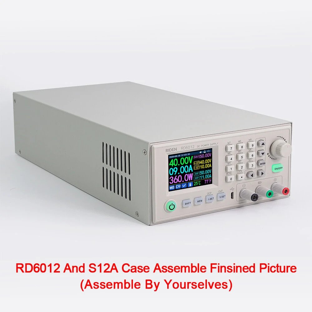picture of assembled DR60 series PSU